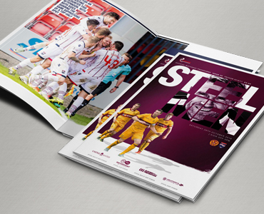 Staggies matchday magazine preview