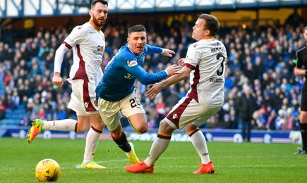 Rangers 2 – 1 Motherwell