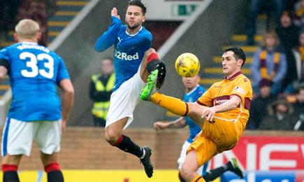 Motherwell 0 – 2 Rangers