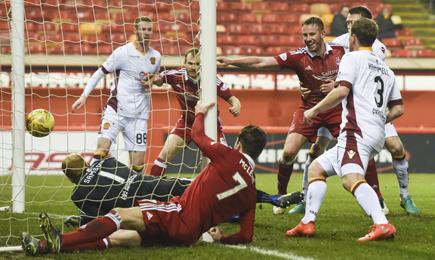 Aberdeen 7 – 2 Motherwell