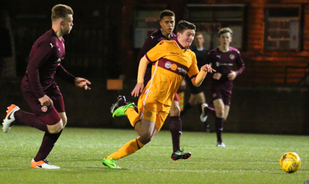 Hearts U20s 0 – 3 Motherwell U20s