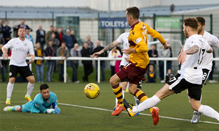 Edinburgh City 1 – 2 Motherwell