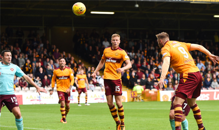 Motherwell 2 – 1 Hearts