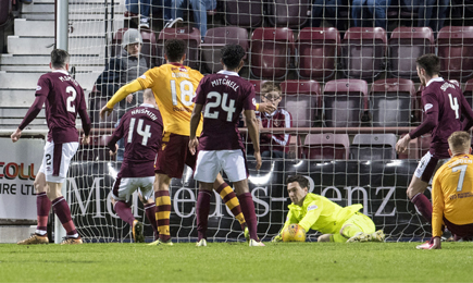 Hearts 1 – 1 Motherwell