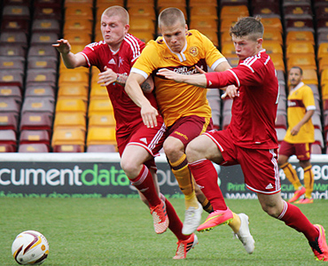 Motherwell U20s 1 – 3 Aberdeen U20s