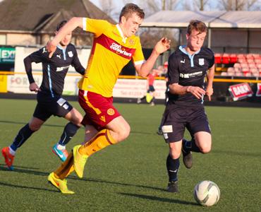 Dundee U20s 1 – 0 Motherwell U20s