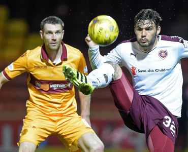 Motherwell 1 – 3 Hearts