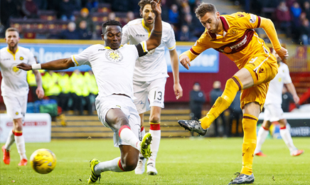 Motherwell 2 – 0 Partick Thistle