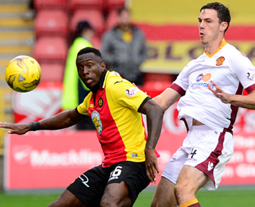 Partick Thistle 1 – 1 Motherwell