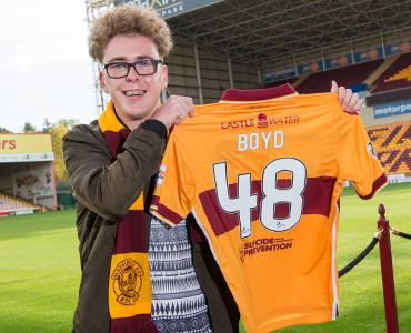 Dream come true for super-fan Robbie