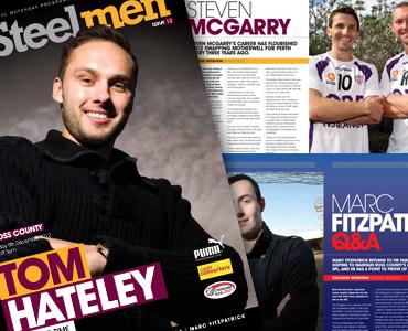 Steelmen Magazine goes digitial