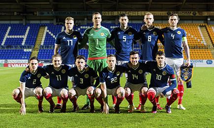 Campbell & Cadden start for Scotland