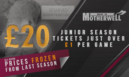 Secure your new season ticket tomorrow