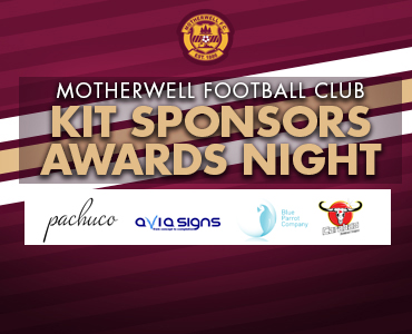 Kit Sponsors Award Night
