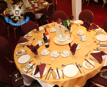St Johnstone hospitality still available