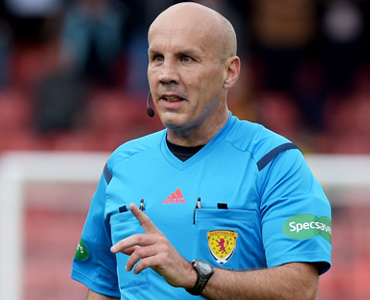 Finnie to officiate Berwick clash