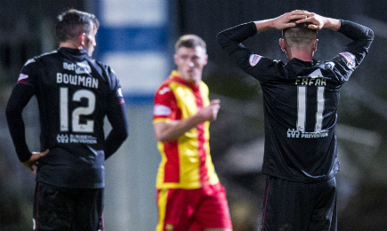 Partick Thistle 3 – 2 Motherwell
