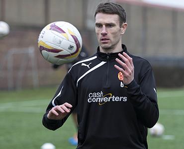 Players train ahead of Celtic clash