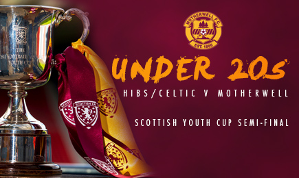 U20s face Celtic in Youth Cup semi final