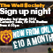'Well Society Sign Up Night: 3rd March