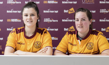 Ladies sign Cunningham and Russell