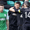 Hibernian draw in pictures