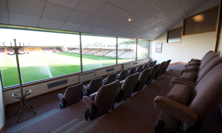 South Stand Boxes